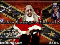 Coming Up On The Andrew Carrington Hitchcock Show Monday March 27 To Friday March 31 – Pastor Eli James / Johannes Scharf / Andrew Carrington Hitchcock / Rick Tyler / Barbara Ann Nowak