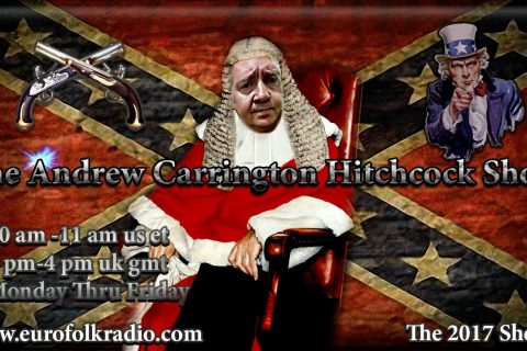 Coming Up On The Andrew Carrington Hitchcock Show Monday February 27 To Friday March 3 – Clint Lacy / V.P. Hughes / Andrew Carrington Hitchcock / Paul Angel / Daryl Bradford Smith And Muhammad Rafeeq
