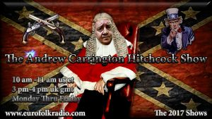 Coming Up On The Andrew Carrington Hitchcock Show Monday January 9 To Friday January 13 – John De Nugent / Dr. Matthew Raphael Johnson / Andrew Carrington Hitchcock / Frosty Wooldridge / Mark Anderson