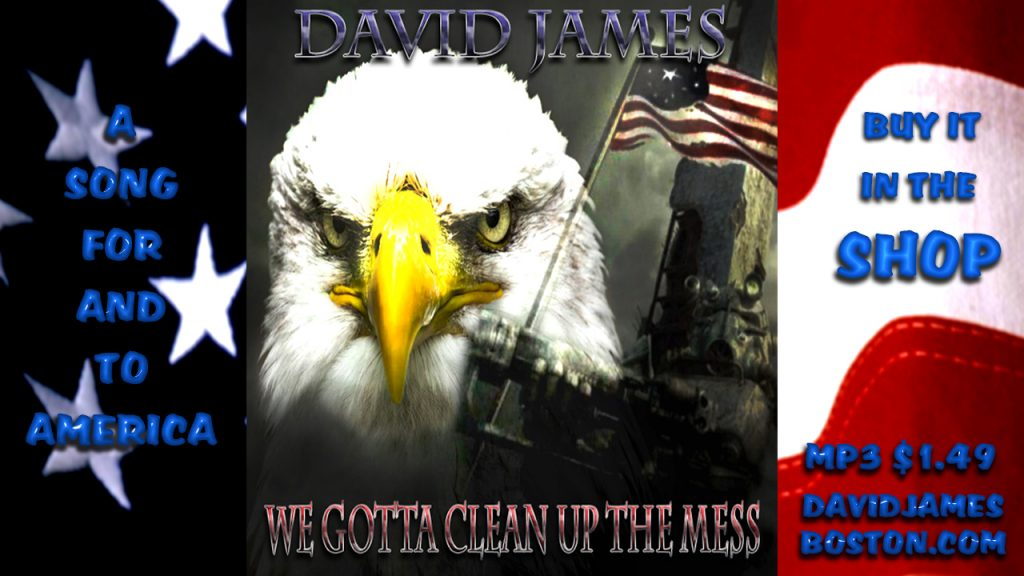 A SONG FOR AMERICA WE GOTTA CLEAN UP THE MESS