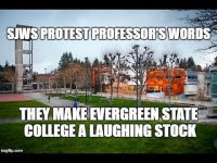 Liberal/Marxist (Judeo-Communist) Policies Fail at Evergreen State