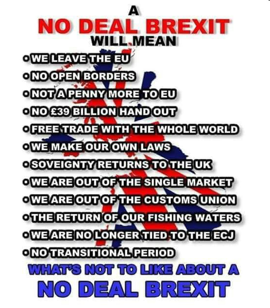 The Andrew Carrington Hitchcock Show (866) Paul English – What's Not To Like About A No Deal Brexit?