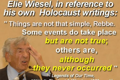 """Holocaustianity and How High Jews Sacrifice Low Jews and Blame It on the """"Gentiles"""""""