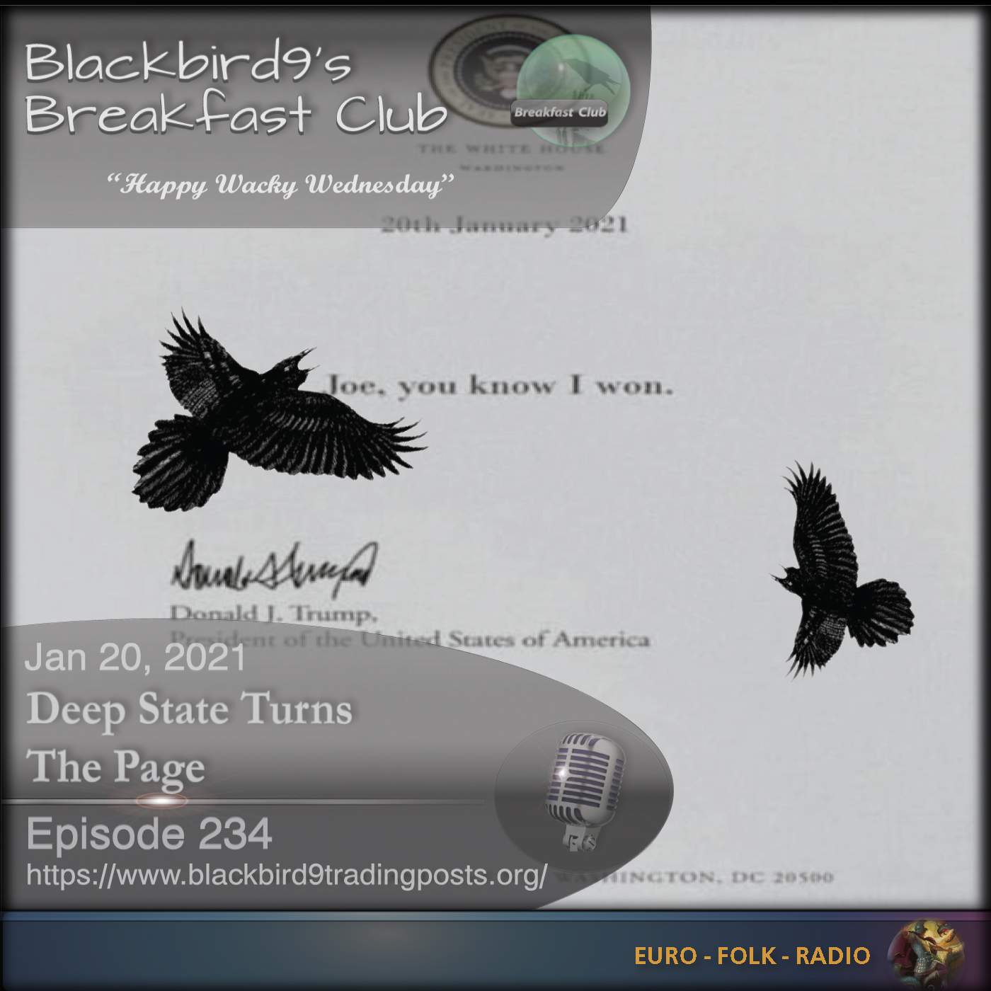 Blackbird9 – (234) Deep State Turns The Page